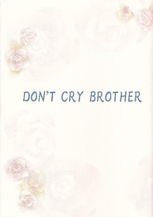 ドルグル本 「DON'T CRY BROTHER」 ダウンロード版
