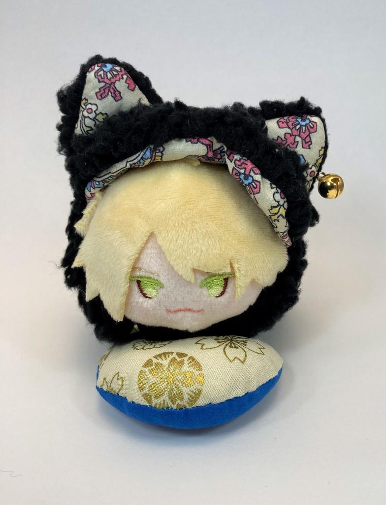 ねこ耳着ぐるみ(黒猫・南泉一文字)
