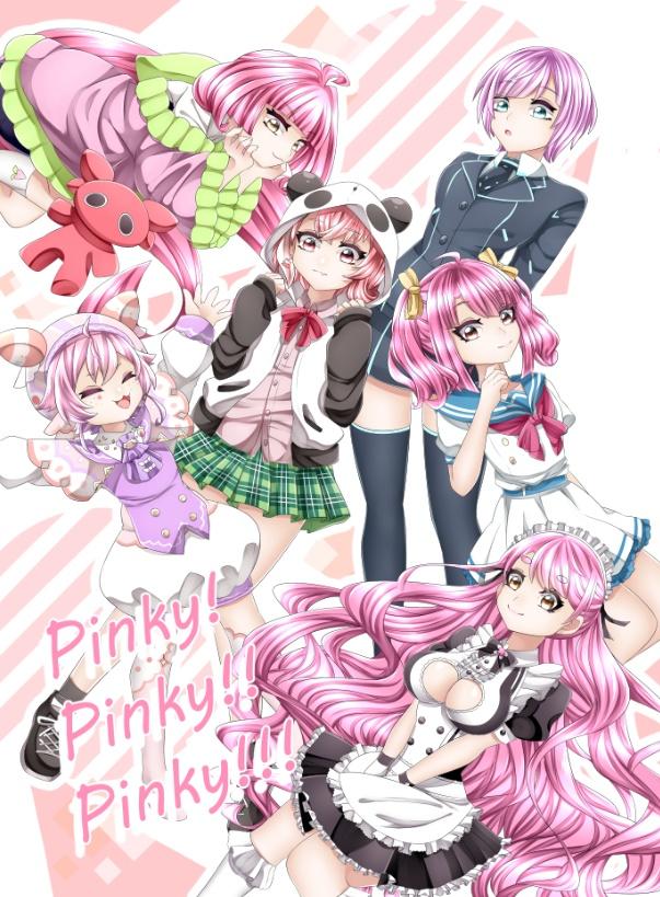 【にじさんじピンク髪本】Pinky×3!!!