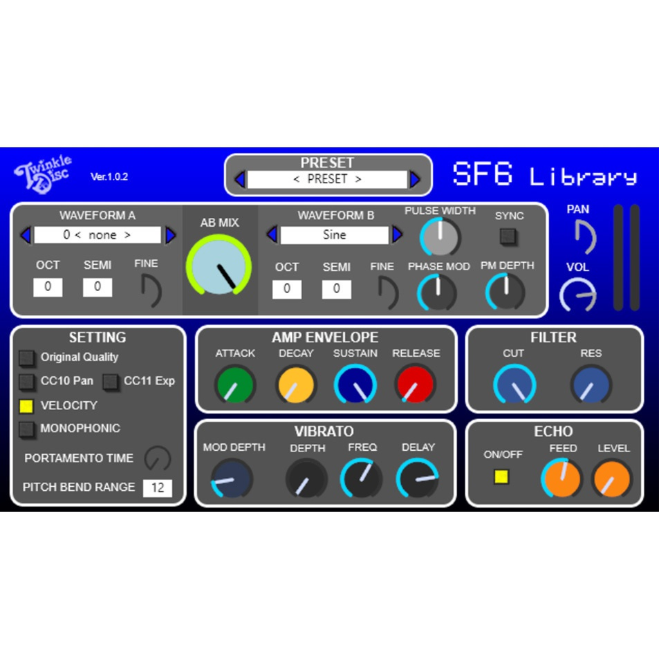 SF6 Library VST
