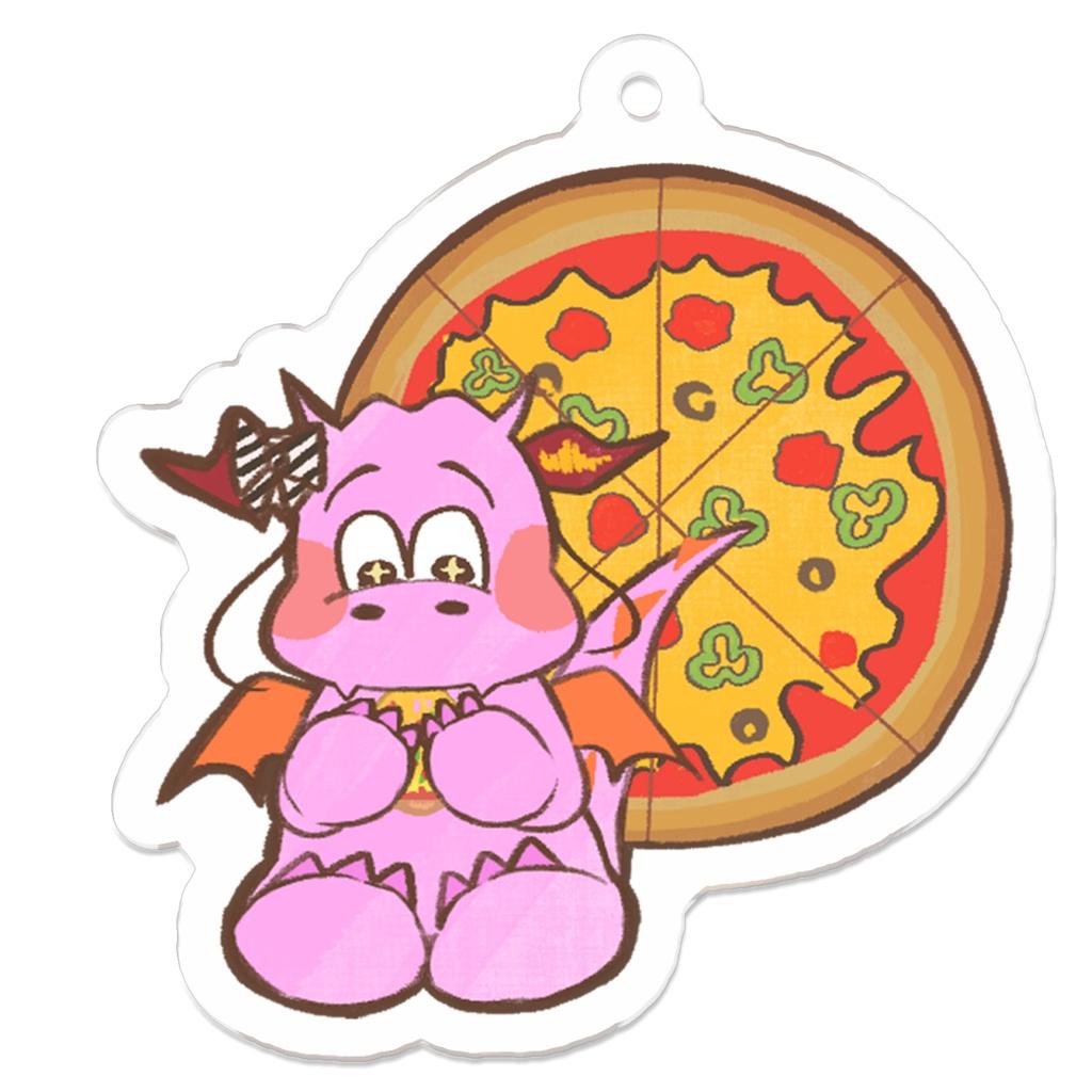 【非公式】Pizza Dragonアクリルキーホルダー2種類