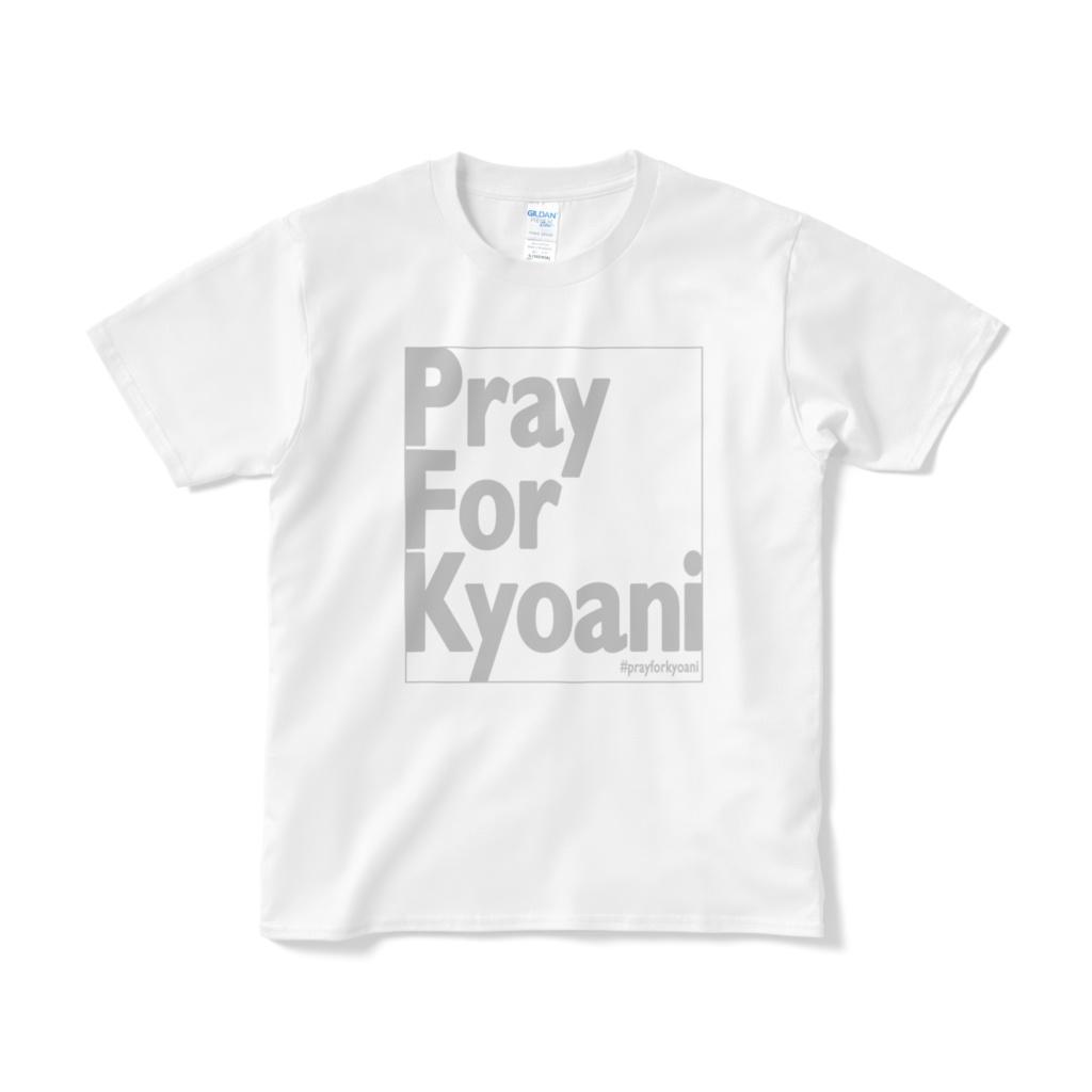PrayForKyoani Front White Black