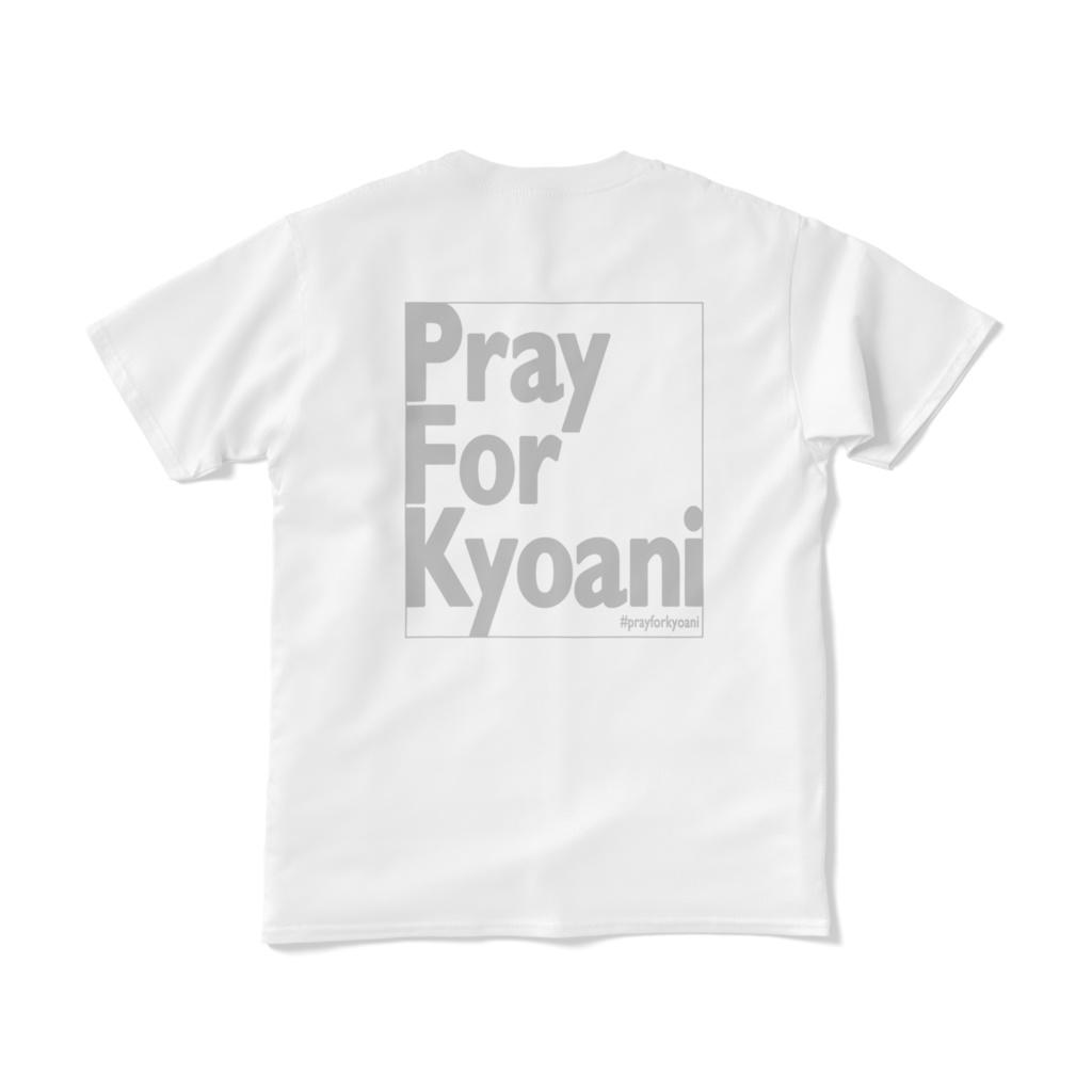 PrayForKyoani BackPrint White Black