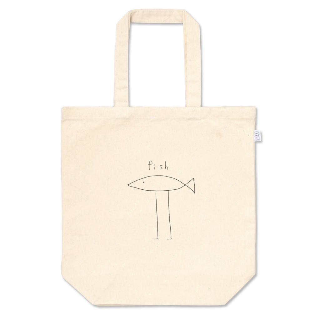 fishトートバッグ