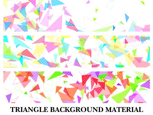 ちまい三角形がしゃかしゃかしてる背景素材高解像度