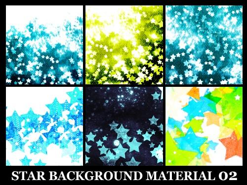 星の背景素材高解像度02