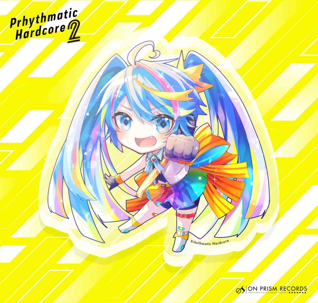 Prhythmatic Hardcore 2 アクリルキーホルダー