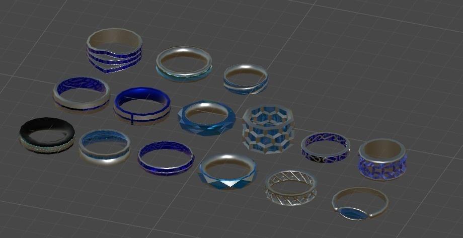 【無料】指輪2 15個セット