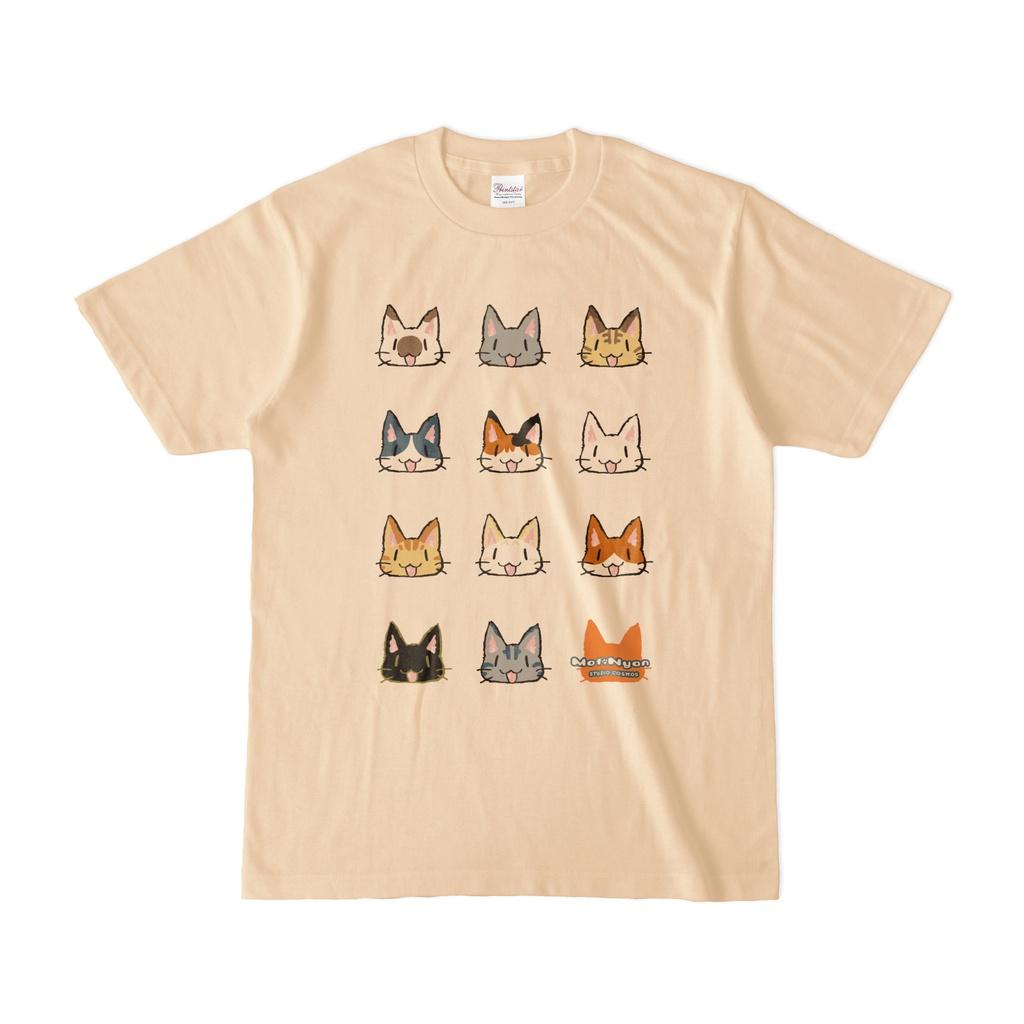 モフニャンTシャツ(淡)