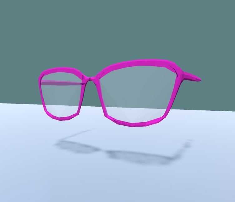 デカメガネ【通常版&ブースト版あり】【VRChat対応】