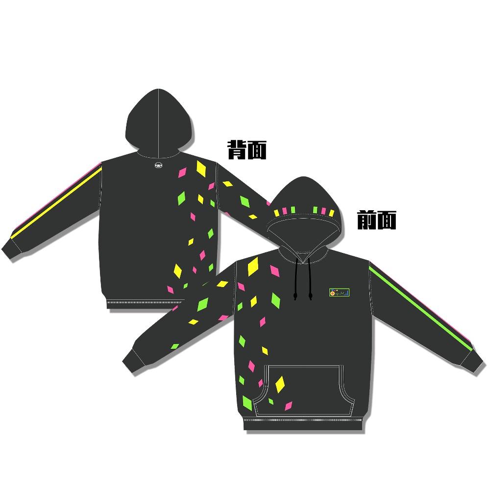 【もこ田めめめ1stソロライブグッズ】フルグラフィックパーカー