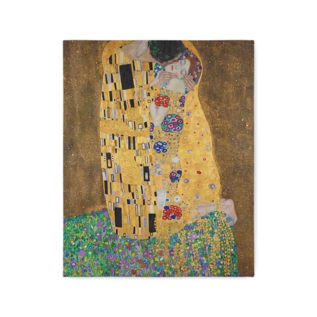 グスタフ・クリムト、キス(恋人たち) Gustav Klimt, The Kiss (Lovers)
