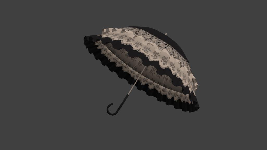 ゴスロリ風洋傘