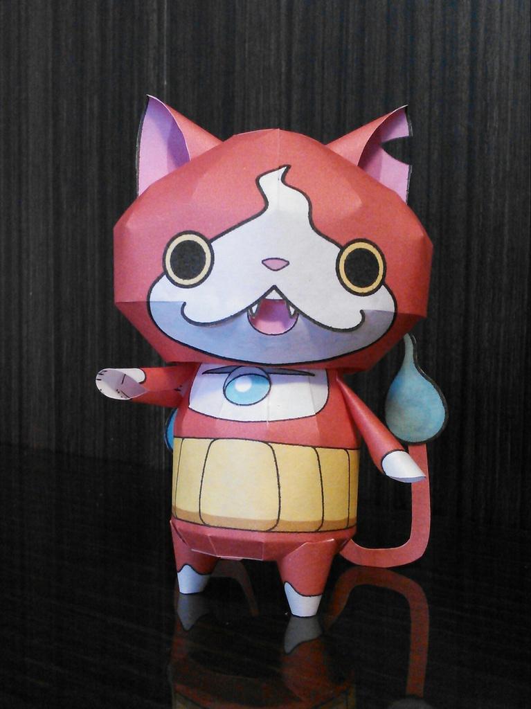 妖怪ウォッチ ジバニャン ペーパークラフト Wakajibi2 Booth