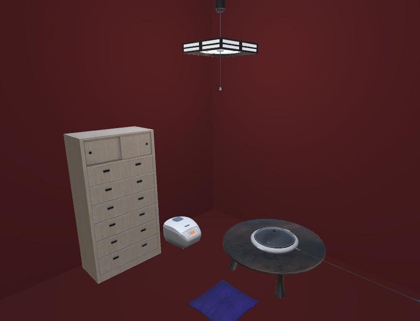 VRChat向けオリジナル3Dモデル「家具&家電詰め合わせ」