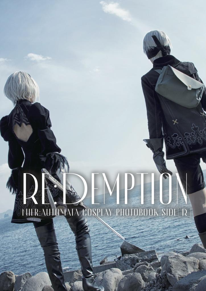 《Re:Demption 》ニーア写真集セット【特典付き】※海外通販対応※