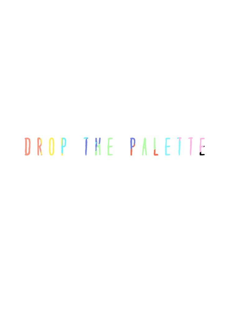 絵先コンピ「DROP THE PALETTE」