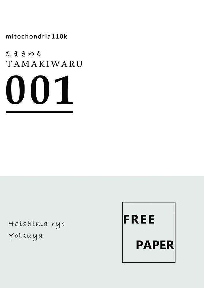たまきわる001【フリーペーパー】