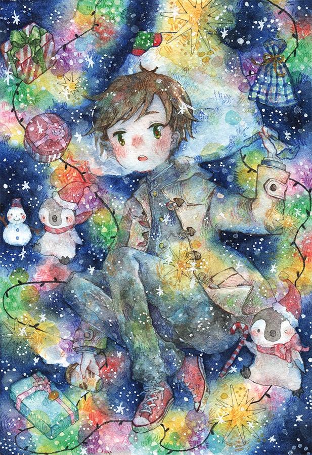 原画【ひととせ~冬~】