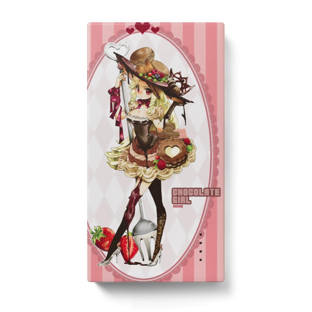 チョコレートGIRLモバイルバッテリー