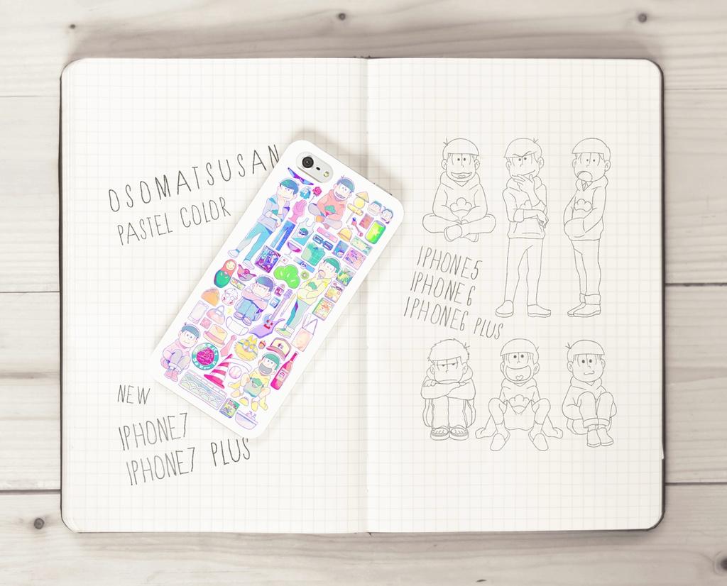 松野家ース / PASTEL COLOR(iPhone7対応)