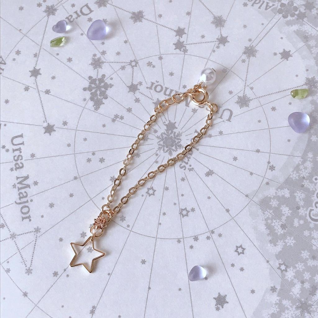 綺羅星のぬいネックレス