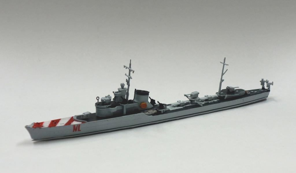 1/700 イタリア王立海軍 駆逐艦 リベッチオ