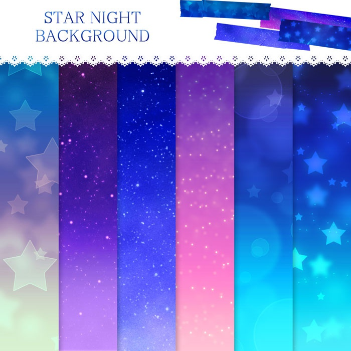 STAR NIGHT BACKGROUND