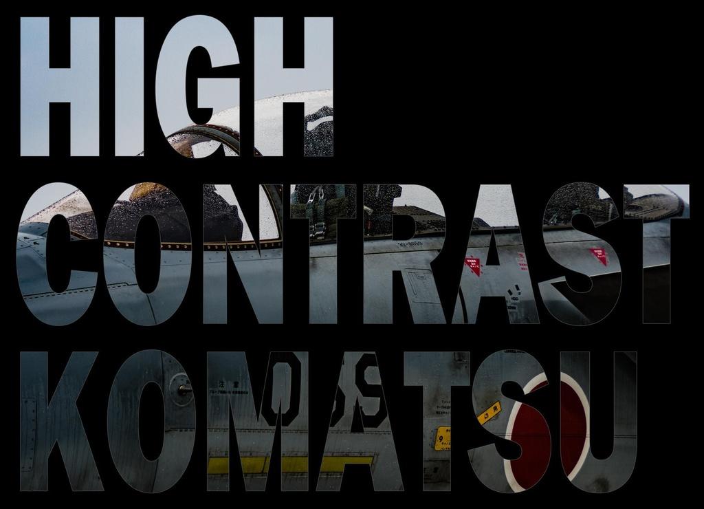 HIGH CONTRAST KOMATSU
