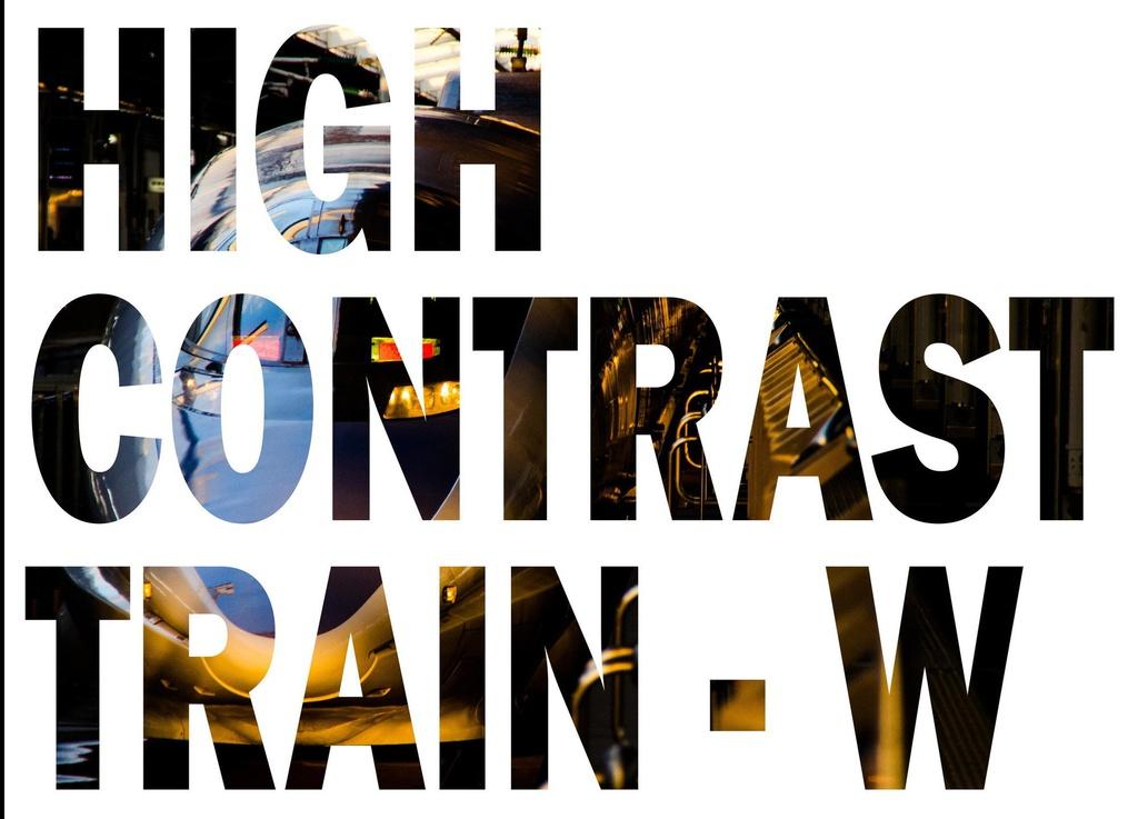 HIGH CONTRAST TRAIN-W