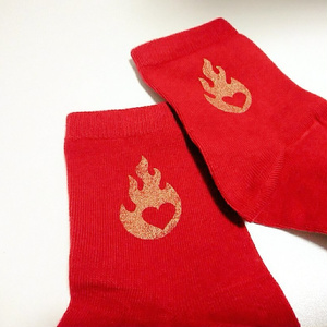 kmt 炎柱🔥煉獄杏寿郎 靴下  2種類
