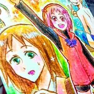 【原画】属性分かれしてるっぽい女子ズ