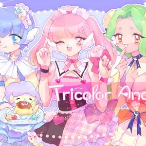Tricolore Angels イラスト漫画本