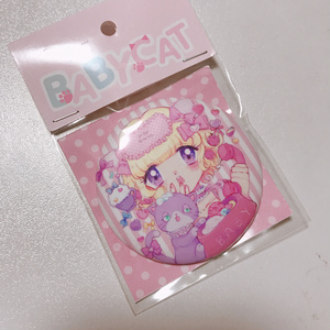 BABYCAT缶バッチ