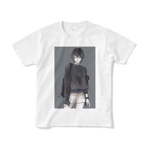 「Short」Tシャツ White