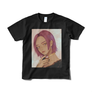「no title 7」Tシャツ Black