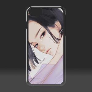 「cry」 クリアiPhoneケース