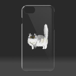 「コロン」 クリアiPhoneケース