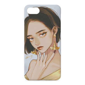 「gold」 iPhoneケース