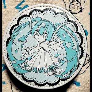 天使ミクコインケース