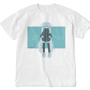 天使ミクTシャツ