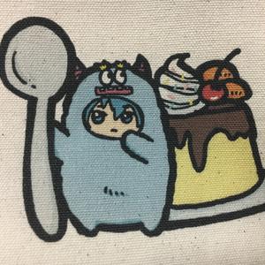 「プリン・タマ・モード」トートバッグ