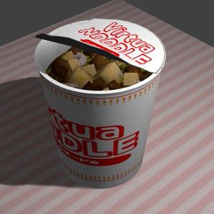 バーチャルヌードル[カップ麺]