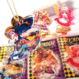 オトカドール『台座ごと連れ歩けるアクリルスタンド:和菓子の国のグリコ』