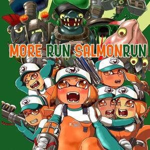 【送料込】MORE RUN SALMONRUN