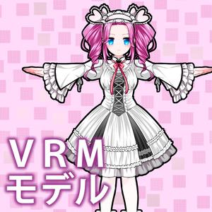 四国めたん公式VRM、VRChatアバター