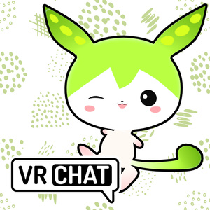 ずんだもん公式VRM、VRChatアバター