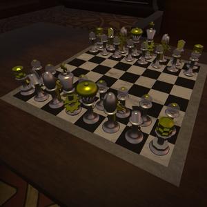 【無料】スチームパンク風チェスボード