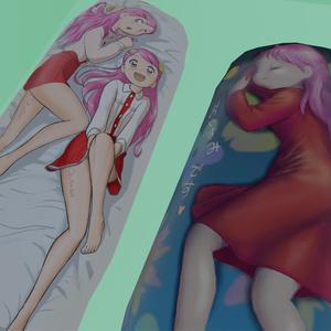 おきゅたんバーチャル抱き枕セット