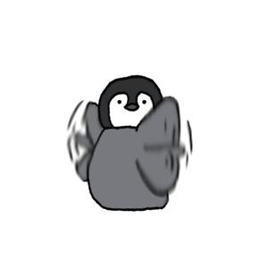 買うて〜ペンギン。
